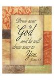 Draw God Print by Jace Grey