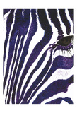 Blue Zebra Mate Prints by Simona Altavilla