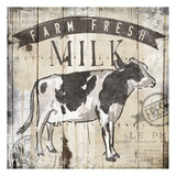 Farm Fresh Milk Prints by  OnRei