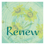 Renew Print by Jessica Vonammon