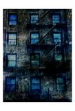 Resident Blue Art by Sheldon Lewis