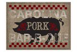 Carolina Pork BBQ Posters by Melody Hogan