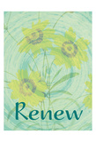 Renew Flora Posters by Jessica Vonammon