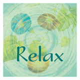 Relax Prints by Jessica Vonammon