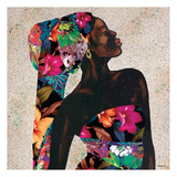 Floral Beauty Prints by Alonza Saunders