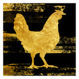 Rich Rooster Print by Sheldon Lewis