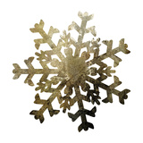 Glimmer Snowflakes 2 Print by Melody Hogan