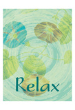 Relax Flora Posters by Jessica Vonammon