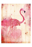 Flamingo Henna Posters by Jace Grey