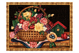 The Gift Basket Art by Laurie Korsgaden