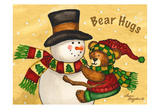 Bear Hugs Poster by Laurie Korsgaden