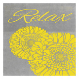 Relax Posters by Tina Carlson