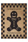 Burlap Christmas 3 Poster by Melody Hogan