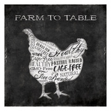 Farm To Chicken Posters by Jace Grey