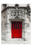 Red Door Prints by Tracey Telik