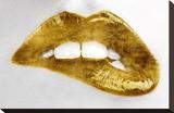 Luscious Gold Kunst op gespannen canvas van Sarah Mcguire