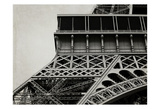 Eiffel Sepia 3 Prints by Tracey Telik