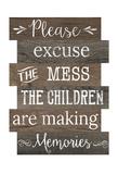 Excuse The Mess Plakater av Jane Fox