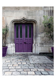 Purple Door 4 Posters by Tracey Telik