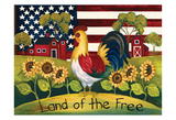 Land of The Free Posters by Laurie Korsgaden