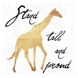 Stand Tall And Proud Reprodukcje autor Sheldon Lewis