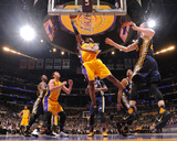 Kobe Bryant 24 - Los Angeles Lakers vs Utah Jazz, April 13, 2016 Photographie par Andrew D. Bernstein