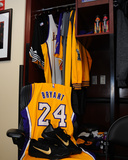 Kobe Bryant's 24 Locker for His Last Game - Los Angeles Lakers vs Utah Jazz, April 13, 2016 Photo by Juan Ocampo