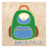 Backpack Poster by Taylor Greene
