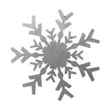 Silver Snowflakes 4 Posters by Melody Hogan