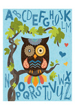 Owl Set Numlet 1 Poster by Melody Hogan