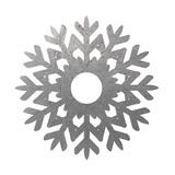 Silver Snowflakes 3 Art by Melody Hogan