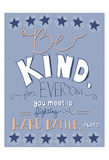 Be Kind Poster by Ashley Davis