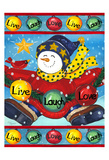 Live Laugh Love Prints by Laurie Korsgaden