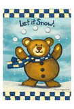 Let it Snow Posters by Laurie Korsgaden
