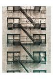 City Escapes 3 Poster by Sandro De Carvalho