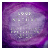 Look Nature Print by Jace Grey