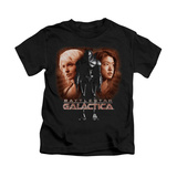 Juvenile: Battle Star Galactica- Created By Man T-Shirt