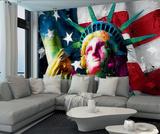 Patrice Murciano Statue of Liberty Wall Mural Behangposter van Patrice Murciano
