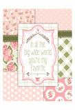 Vintage Romance 04 Plakat af Melody Hogan