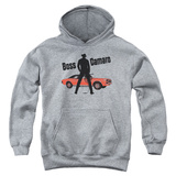 Youth Hoodie: Chevy- Boss Camaro Pullover Hoodie