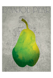 Fruit Watercolor Print by Melody Hogan