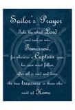 Sailor's Prayer 1 Art by Sheldon Lewis