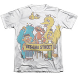 Sesame Street- Block Party Sublimated