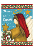 Peace on Earth 2 Print by Laurie Korsgaden