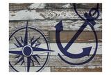 Coastal Nautical 01 Prints by Melody Hogan