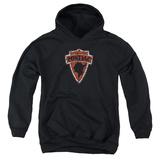 Youth Hoodie: Pontiac- Vintage Arrowhead Emblem Pullover Hoodie