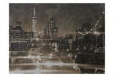 Night Life @ Brooklyn Brdg Park Posters by Sheldon Lewis