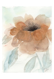 Neutral Peony I Print by Beverly Dyer