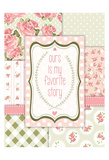 Vintage Romance 02 Poster by Melody Hogan