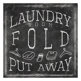 Chalkboard Laundry Mate Posters by Jace Grey